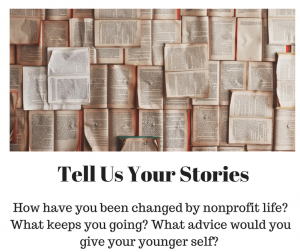 Tell Us Your Stories